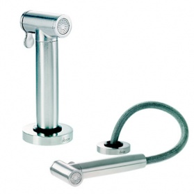 Kitchen taps in stainless steel - Abode Axell