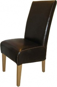 Nevada Brown Dining Chair_main_image