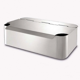 Zack Luca stainless steel kitchen storage box
