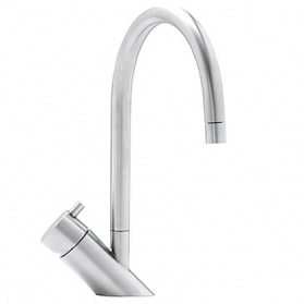 Kitchen taps in stainless steel - Abode Diagon