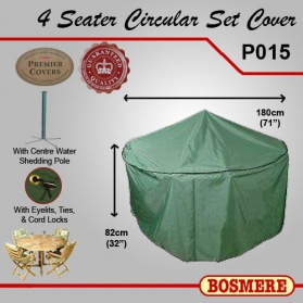 Garden Furniture Cover - 4 Seater Circular _main_image