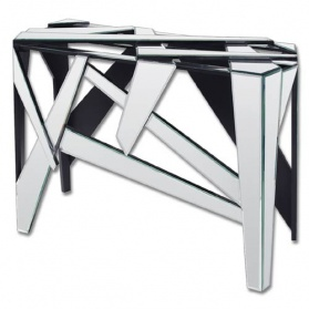 Abstract Venetian Glass Console Table_main_image