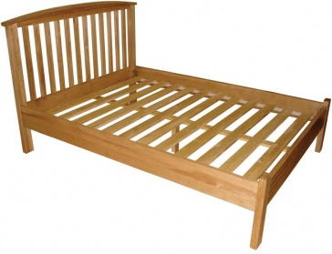 Shaker Oak Kingsize Bed
