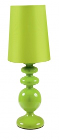 Eclair table lamp green