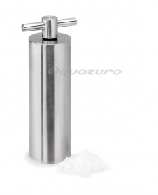 Salt mill - stainless steel with ceramic grinder -