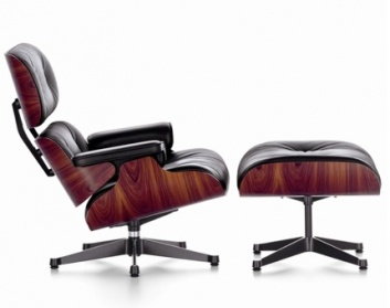 Eames Lounge Chair and Footstool
