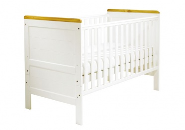 Colby White Cot Bed