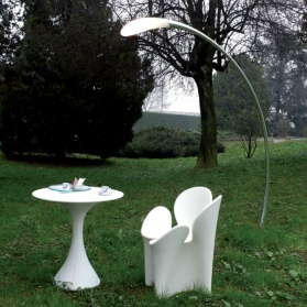 Fontana Arte - Flora Outdoor Floor Light with Base_main_image