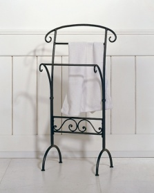Bruce Iron towel rail/stand