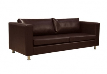 Durham 3 Seater Leather Sofa