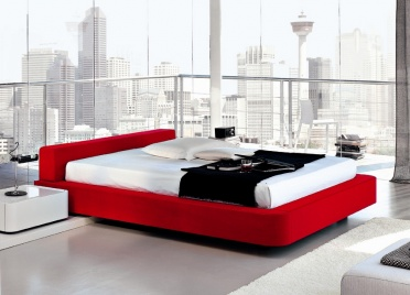 Domino Upholstered Bed _main_image