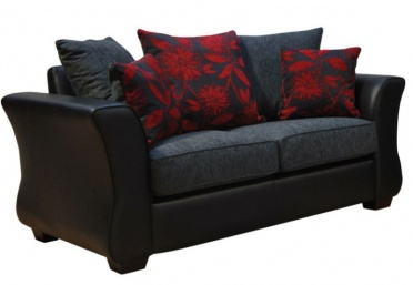 Osprey 2 seater Leather and Fabric Sofa_main_image