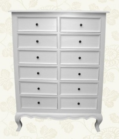 White Linen 12 Drawer Chest_main_image