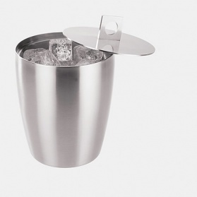 Zack Cius stainless steel ice bucket