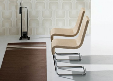 Bonaldo Skip Upholstered Dining Chair _main_image