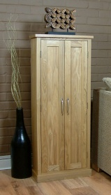 Mobel Oak DVD Storage Cupboard_main_image