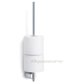 Duo polished spare toilet roll holder_main_image