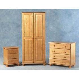 Sol Trio Pine Bedroom Set_main_image