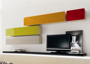 Glass Wall Unit Composition 2
