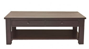 Clifton Ash Large Coffee Table Shelf & Drawers