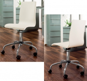 Straight office chair