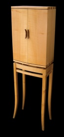Sycamore bow front cabinet_main_image