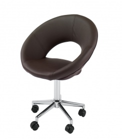 Retro office chair brown_main_image