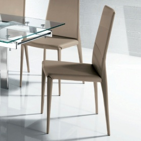 Bruno Modern Italian Dining Chair, High Back_main_image