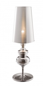 Tapered shade oversized table lamp _main_image
