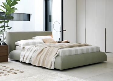 Moon Upholstered Bed _main_image
