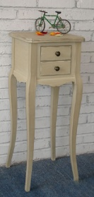 Olive Grove 2 Drawer Lamp Table