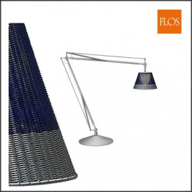 Flos - Philippe Starck - Superarchimoon Blue Outdo