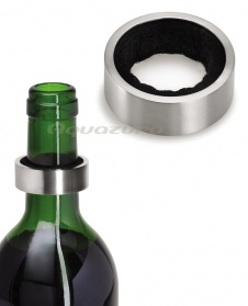 Wine bottle drip catcher - stainless steel - Blomu_main_image