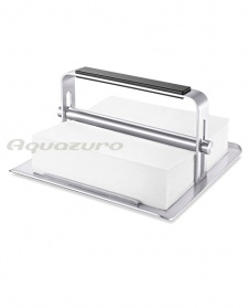 Serviette holder - stainless steel - Zack Purito