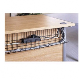 Office Desk Cable Managed Tray
