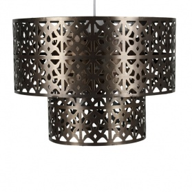 Cut Out Metal 2 Tier Pendant_main_image