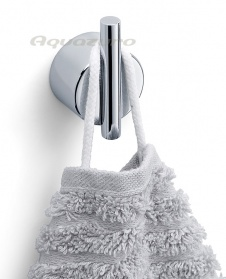 Duo polished self adhesive wall hook_main_image