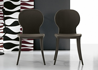Bonaldo Victoria Leather Dining Chair _main_image