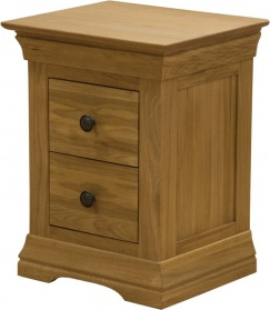 Frenchay Oak Bedside Table