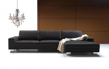 Quattro corner sofa wide arms