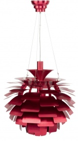 Leaf layered pendant light red_main_image