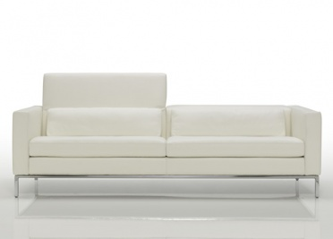 Chicago 3 Seat Leather Sofa
