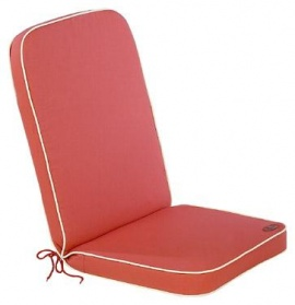 Cushion with Back - Sunset Terracotta