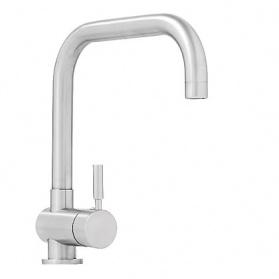 Kitchen taps in stainless steel - Abode Propus_main_image