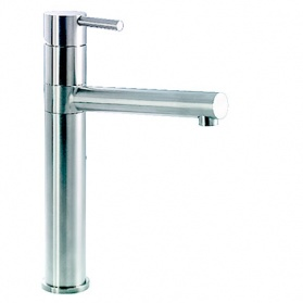 Kitchen taps in stainless steel - Abode Ignus_main_image