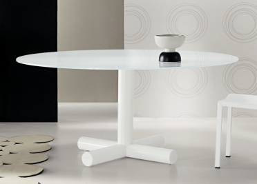 Bonaldo Surfer Round Dining Table _main_image
