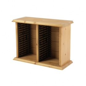 Farmhouse Twin Tower DVD Storage Rack (32 DVDs)_main_image