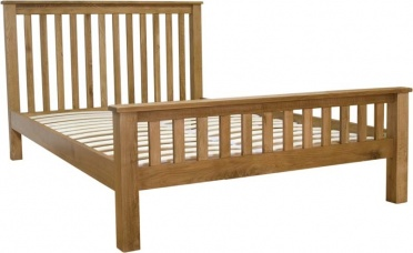 Barn Oak Kingsize Bed_main_image