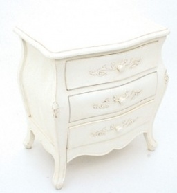 Lily Antique Cream French Petite Chest
