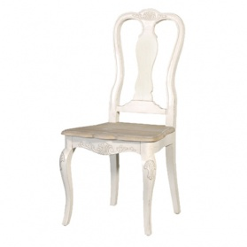 Chamonix Antique White Dining Chair_main_image